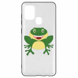 Чехол для Samsung A21s Cute toad