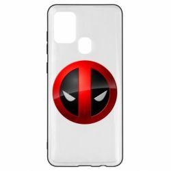 Чехол для Samsung A21s Deadpool Logo