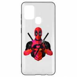 Чохол для Samsung A21s Deadpool Love