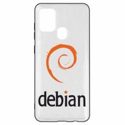 Чехол для Samsung A21s Debian
