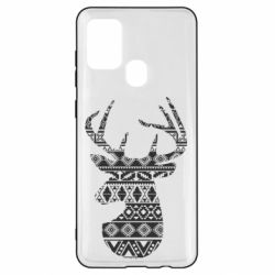 Чохол для Samsung A21s Deer from the patterns