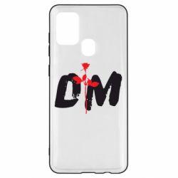 Чехол для Samsung A21s depeche mode logo