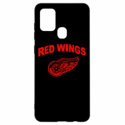 Чохол для Samsung A21s Detroit Red Wings