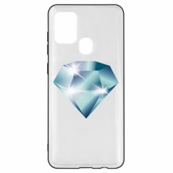 Чехол для Samsung A21s Diamond with highlights