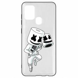 Чехол для Samsung A21s DJ marshmallow 1