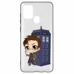 Чохол для Samsung A21s Doctor who is 10 season2