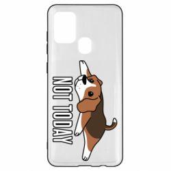 Чехол для Samsung A21s Dog not today
