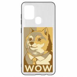Чохол для Samsung A21s Doge wow meme