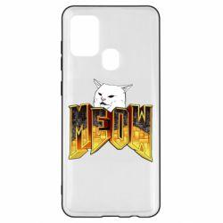 Чохол для Samsung A21s Doom меов cat