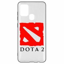 Чехол для Samsung A21s Dota 2 Big Logo