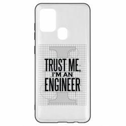 Чохол для Samsung A21s Довірся мені я інженер