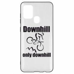 Чохол для Samsung A21s Downhill,only downhill