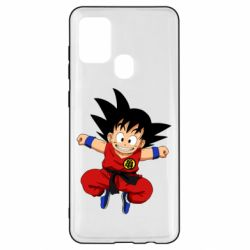 Чохол для Samsung A21s Dragon ball Son Goku