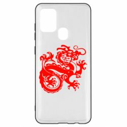Чехол для Samsung A21s Дракон