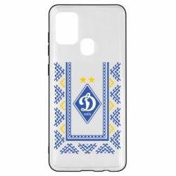 Чехол для Samsung A21s Dynamo logo and ornament
