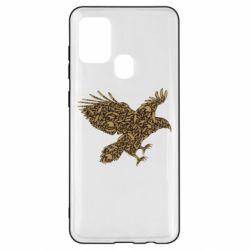 Чехол для Samsung A21s Eagle feather