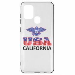 Чехол для Samsung A21s Eagle USA