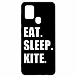 Чохол для Samsung A21s Eat, sleep, kite
