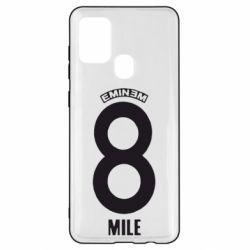 Чехол для Samsung A21s Eminem 8 mile