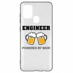 Чохол для Samsung A21s Engineer Powered By Beer