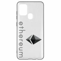 Чехол для Samsung A21s Ethereum