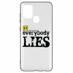 Чохол для Samsung A21s Everybody LIES House