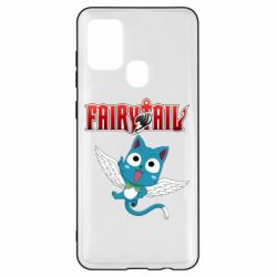 Чохол для Samsung A21s Fairy tail Happy