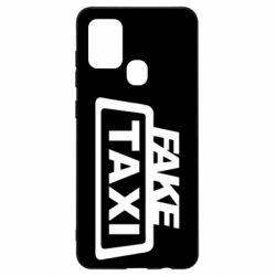 Чохол для Samsung A21s Fake Taxi