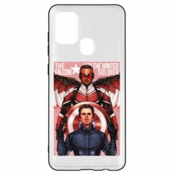 Чохол для Samsung A21s Falcon and the Winter Soldier Art