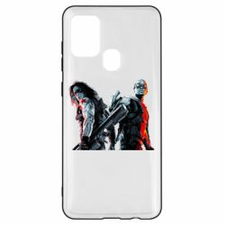 Чохол для Samsung A21s Falcon and Winter Soldier