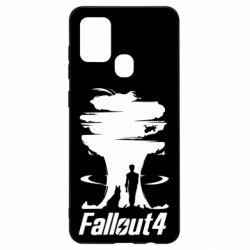 Чехол для Samsung A21s Fallout 4 Art