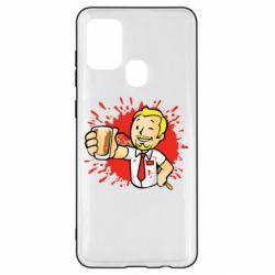 Чохол для Samsung A21s Fallout  boy blood