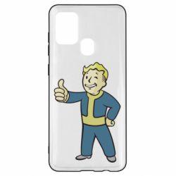 Чехол для Samsung A21s Fallout Boy