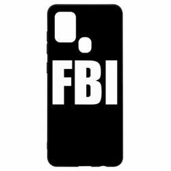 Чехол для Samsung A21s FBI (ФБР)