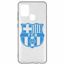 Чехол для Samsung A21s FC Barcelona