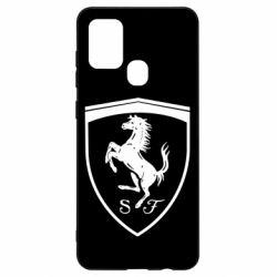 Чохол для Samsung A21s Ferrari horse