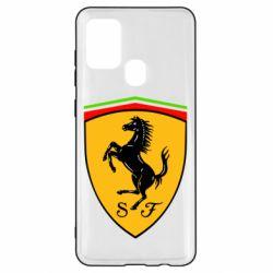 Чехол для Samsung A21s Ferrari