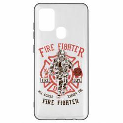 Чохол для Samsung A21s Fire Fighter