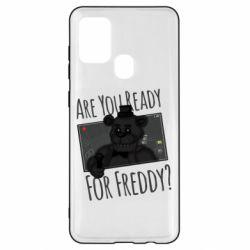 Чехол для Samsung A21s Five Nights at Freddy's 1