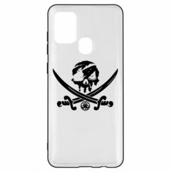 Чохол для Samsung A21s Flag pirate