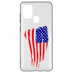Чохол для Samsung A21s Прапор США
