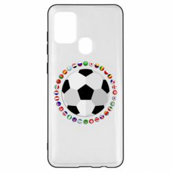 Чохол для Samsung A21s Football