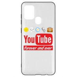 Чохол для Samsung A21s Forever and ever emoji's life youtube