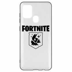 Чехол для Samsung A21s Fortnite and llama