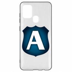 Чохол для Samsung A21s Форум Антиколлектор Лого Минимал