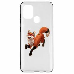 Чехол для Samsung A21s Fox in flight