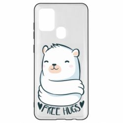Чохол для Samsung A21s Free hugs bear