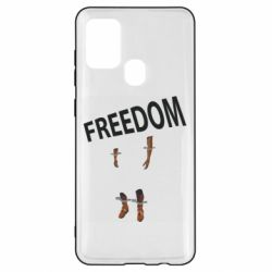 Чехол для Samsung A21s Freedom and limbs