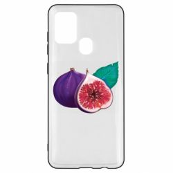 Чехол для Samsung A21s Fruit Fig