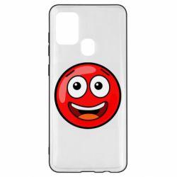 Чохол для Samsung A21s Funny Red Ball